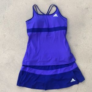 Adidas 2 pc tennis set